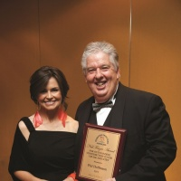 Phil Hoffmann and Lisa Wilkinson Cruise Awards
