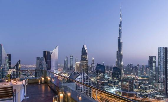Shangri La Hotel Dubai